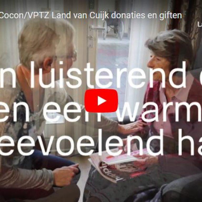 Donaties en giften VPTZ Land van Cuijk-Hospice de Cocon